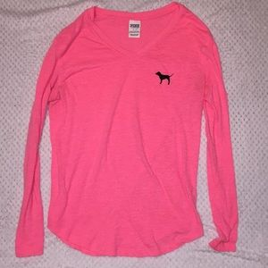 VS PINK long sleeve tee!